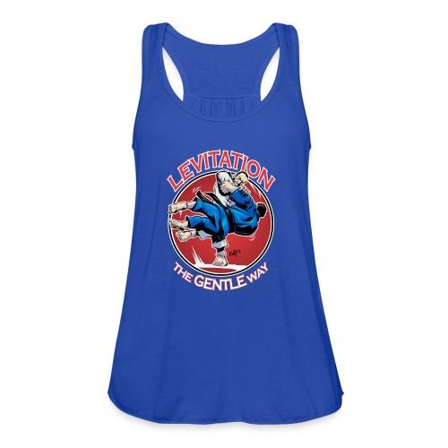 Judo Levitation for dark shirt - Women's Flowy Tank Top by Bella