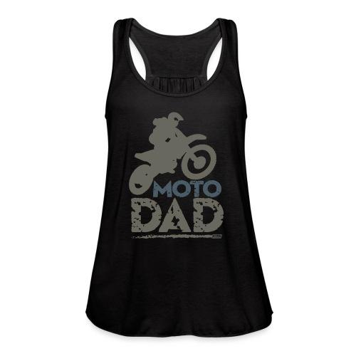 Dirt Bike Dad - Women's Flowy Tank Top by Bella