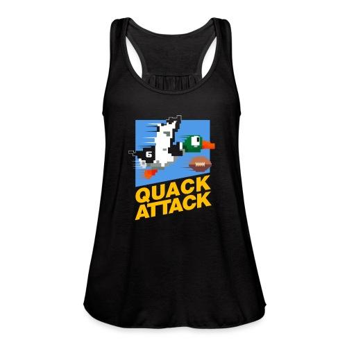 Quack Attack - Women's Flowy Tank Top by Bella