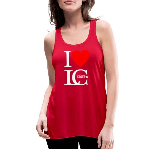 I Heart LCDance - Women's Flowy Tank Top by Bella