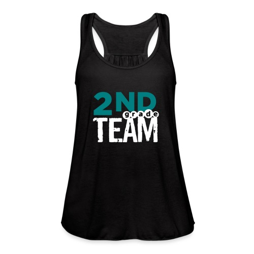 Bold 2nd Grade Team Teacher T Shirts - Women's Flowy Tank Top by Bella