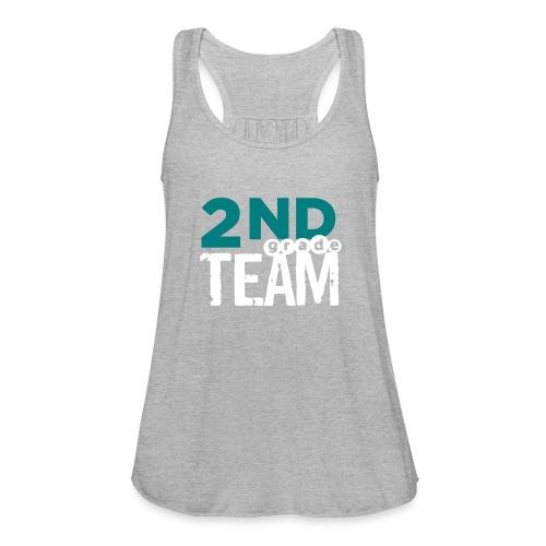 Bold 2nd Grade Team Teacher T Shirts - Women's Flowy Tank Top by Bella