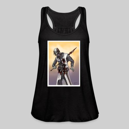 Zombie Crusader - Women's Flowy Tank Top by Bella