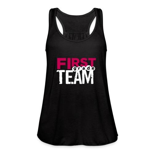 Bold First Grade Team Teacher T-Shirts - Women's Flowy Tank Top by Bella