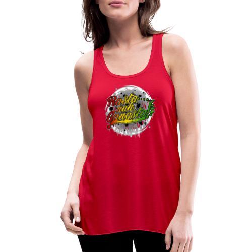 Rasta nuh Gangsta - Women's Flowy Tank Top by Bella