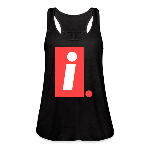 Ideal I logo - Women's Flowy Tank Top by Bella