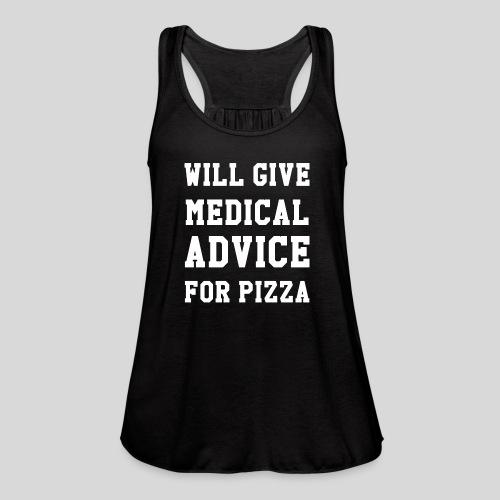 Pizza - Women's Flowy Tank Top by Bella