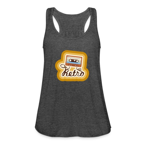 Retro-Cassette - Women's Flowy Tank Top by Bella