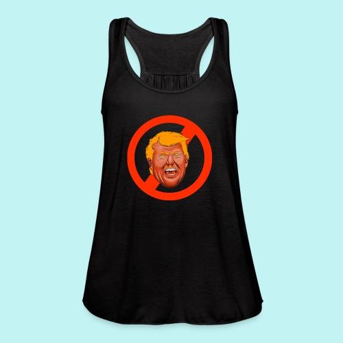 Dump Trump - Women's Flowy Tank Top by Bella