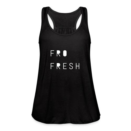 Fro fresh - Women's Flowy Tank Top by Bella