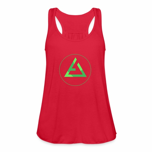 crypto logo branding - Women's Flowy Tank Top by Bella