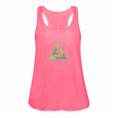 crypto logo branding - Women's Flowy Tank Top by Bella