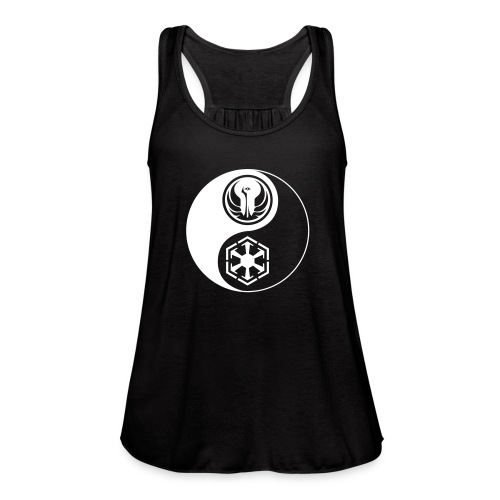 Star Wars SWTOR Yin Yang 1-Color Light - Women's Flowy Tank Top by Bella