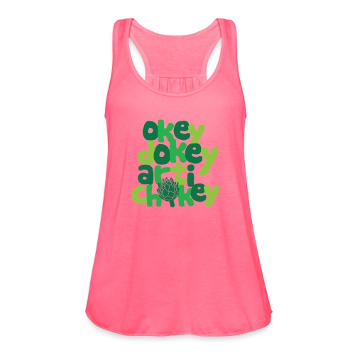 Okey Dokey Artichokey - Women's Flowy Tank Top by Bella
