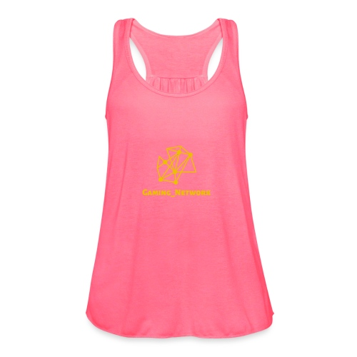 gaming network gold - Women's Flowy Tank Top by Bella