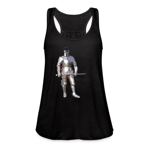 Plate Armor Bring it men's standard T - Women's Flowy Tank Top by Bella