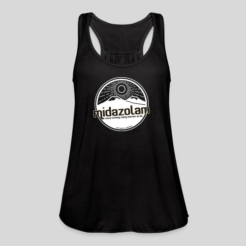 Midazolam - Women's Flowy Tank Top by Bella