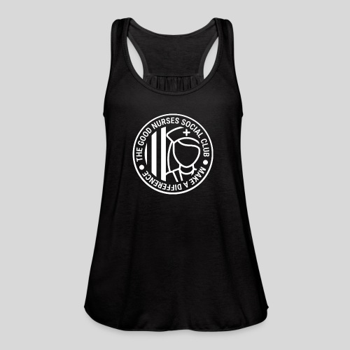 The Good Nurses Social Club - Women's Flowy Tank Top by Bella