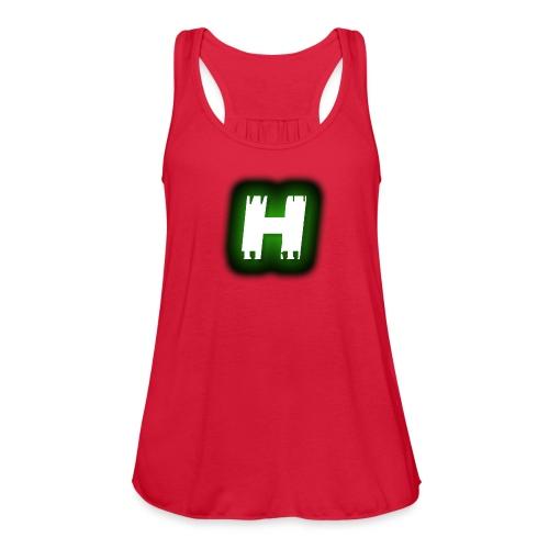 Hive Hunterz 'H' - Women's Flowy Tank Top by Bella