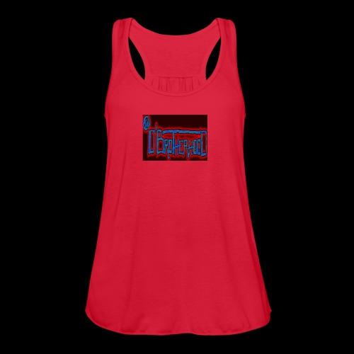 The D'BroTHerHooD Logo - Women's Flowy Tank Top by Bella