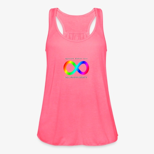 Embrace Neurodiversity - Women's Flowy Tank Top by Bella