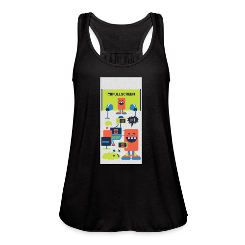 iphone5screenbots - Women's Flowy Tank Top by Bella