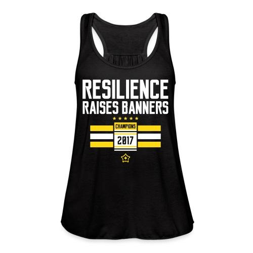 resilience - Women's Flowy Tank Top by Bella