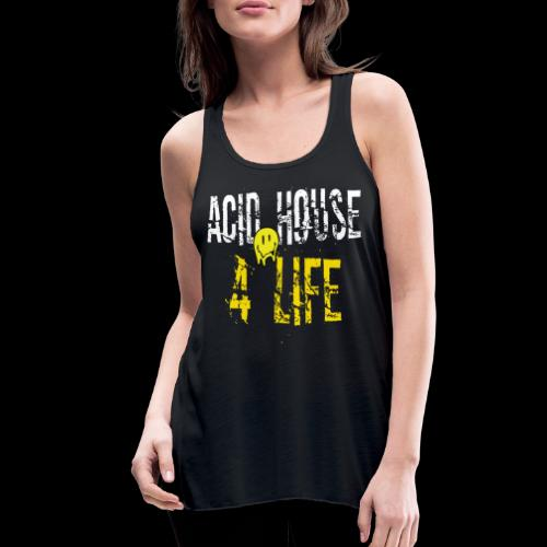 Acid House 4 Life - Women's Flowy Tank Top by Bella