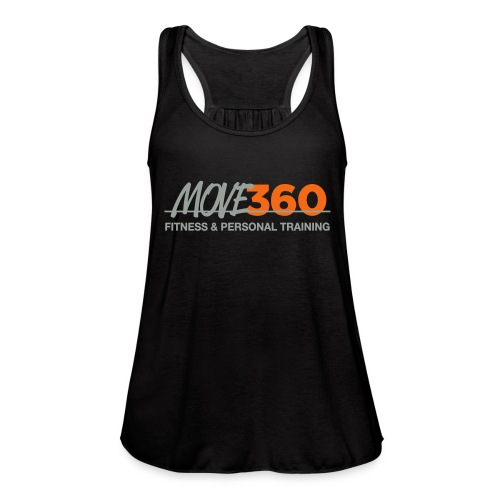 Move360 Grey - Women's Flowy Tank Top by Bella
