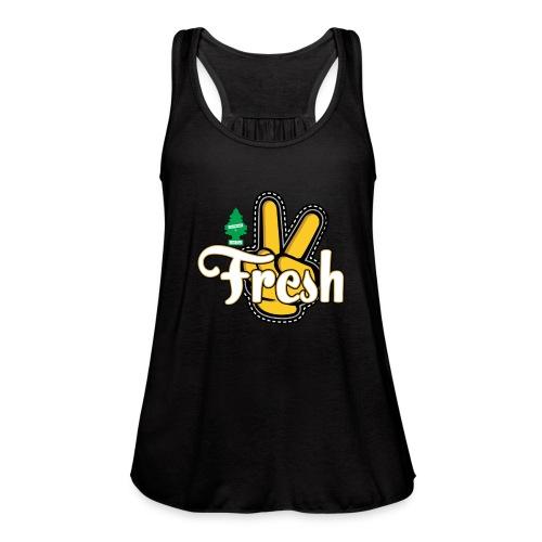 2Fresh2Clean - Women's Flowy Tank Top by Bella