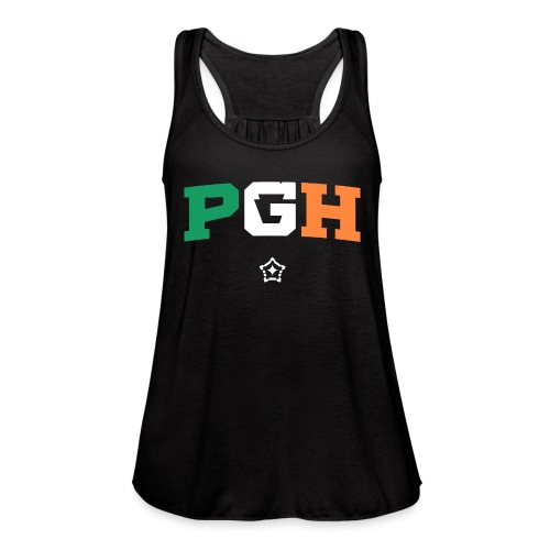 Block PGH - Irish Flag - Women's Flowy Tank Top by Bella