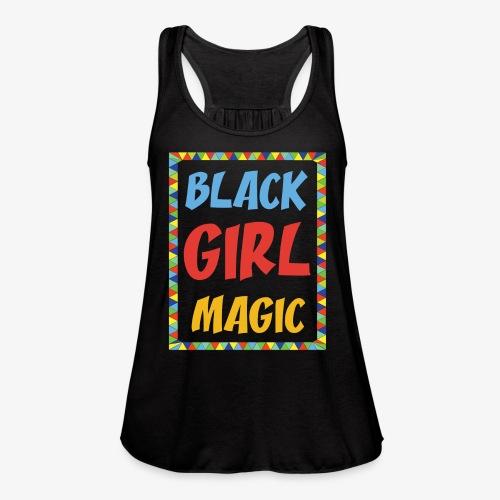 Black Girl Magic - Women's Flowy Tank Top by Bella