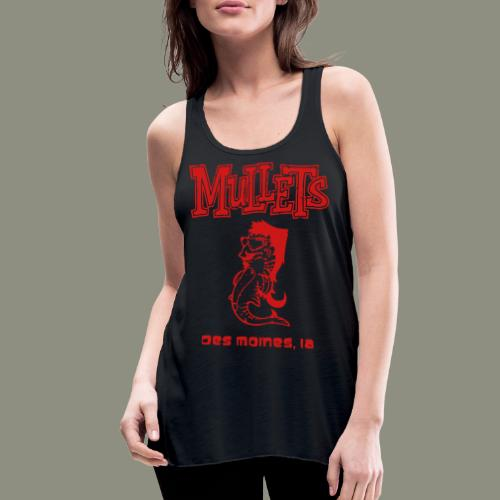 Mullets Color Series - Women's Flowy Tank Top by Bella