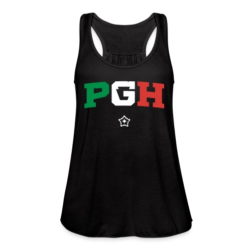 PGH_Italy - Women's Flowy Tank Top by Bella