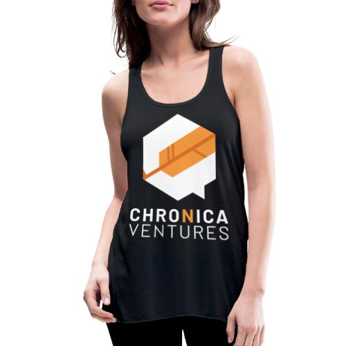 Chronica Ventures Large Logo - Women's Flowy Tank Top by Bella