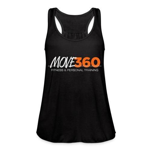 Move360 Logo LightGrey - Women's Flowy Tank Top by Bella