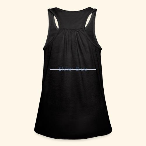 Sister Blue - Women's Flowy Tank Top by Bella