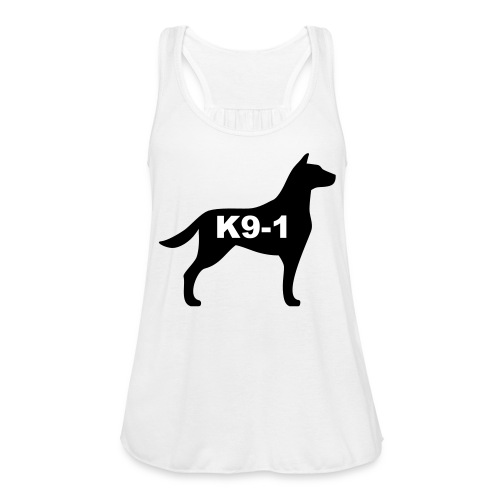 k9-1 Logo Large - Women's Flowy Tank Top by Bella