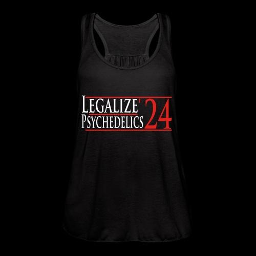 Legalize Psychedelics - Women's Flowy Tank Top by Bella