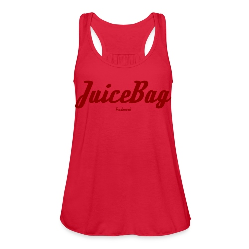 Juicebag red - Women's Flowy Tank Top by Bella