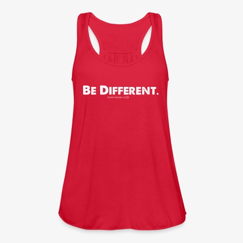 Be Different // Forrest Stevens Official merch. - Women's Flowy Tank Top by Bella