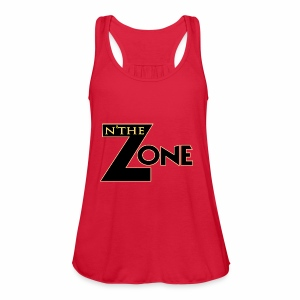 in the zone Logo - Women's Flowy Tank Top by Bella