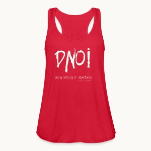 DNOI GRUNGE Carolyn Sandstrom WT TEXT - Women's Flowy Tank Top by Bella