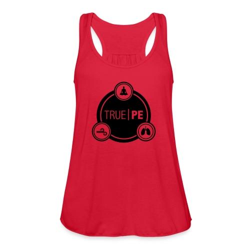 true PE logo - Women's Flowy Tank Top by Bella