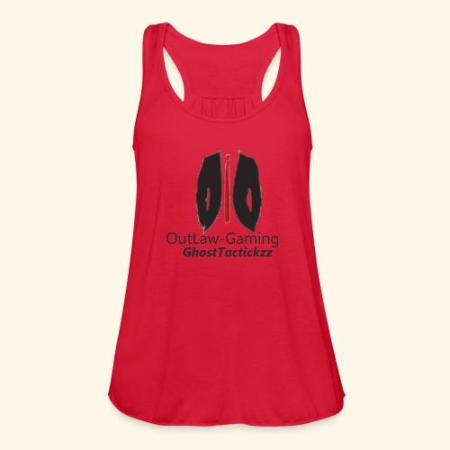 logo9 - Women's Flowy Tank Top by Bella