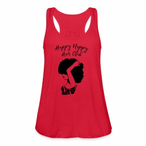 Happy Nappy Hair Club Premium Tee - Women's Flowy Tank Top by Bella