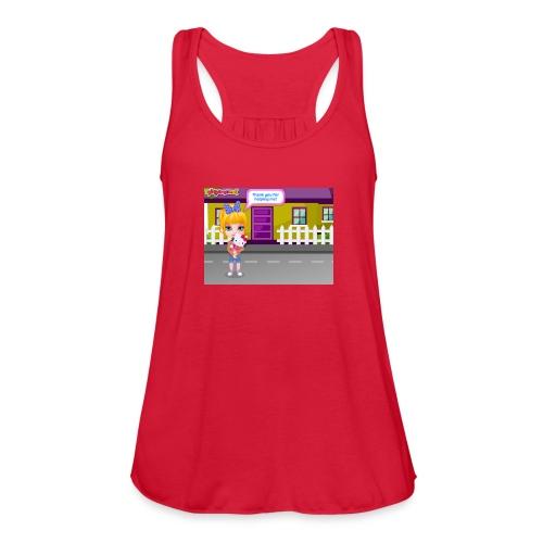Baby Barbie Throat Doctor T-shirt/Tanktop - Women's Flowy Tank Top by Bella