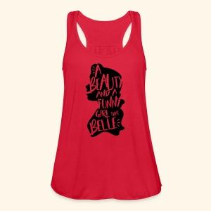 Funny girl - Women's Flowy Tank Top by Bella