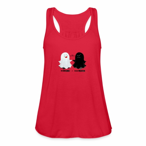 THE GOOD GHOST AND THE BAD PHANTOM - Women's Flowy Tank Top by Bella