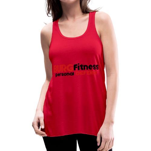 Burg Fitness Personal Defense - Women's Flowy Tank Top by Bella